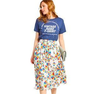 ModCloth Match Made Midi Skirt